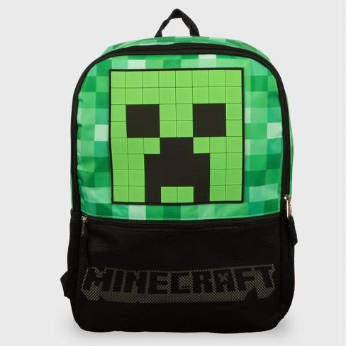 Minecraft 18'' Kids' Backpack - Black - image 1 of 4