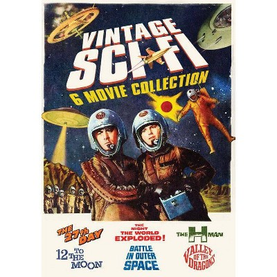 Vintage Sci-Fi 6-Movie Collection (DVD)(2015)