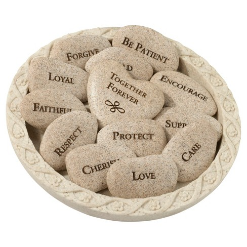 13ct Vow Stones with Plate - image 1 of 2