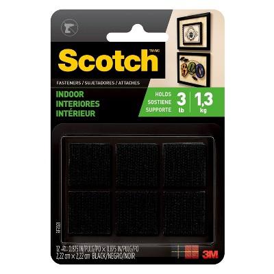 Scotch 12ct Indoor Adhesive Fastener Strips