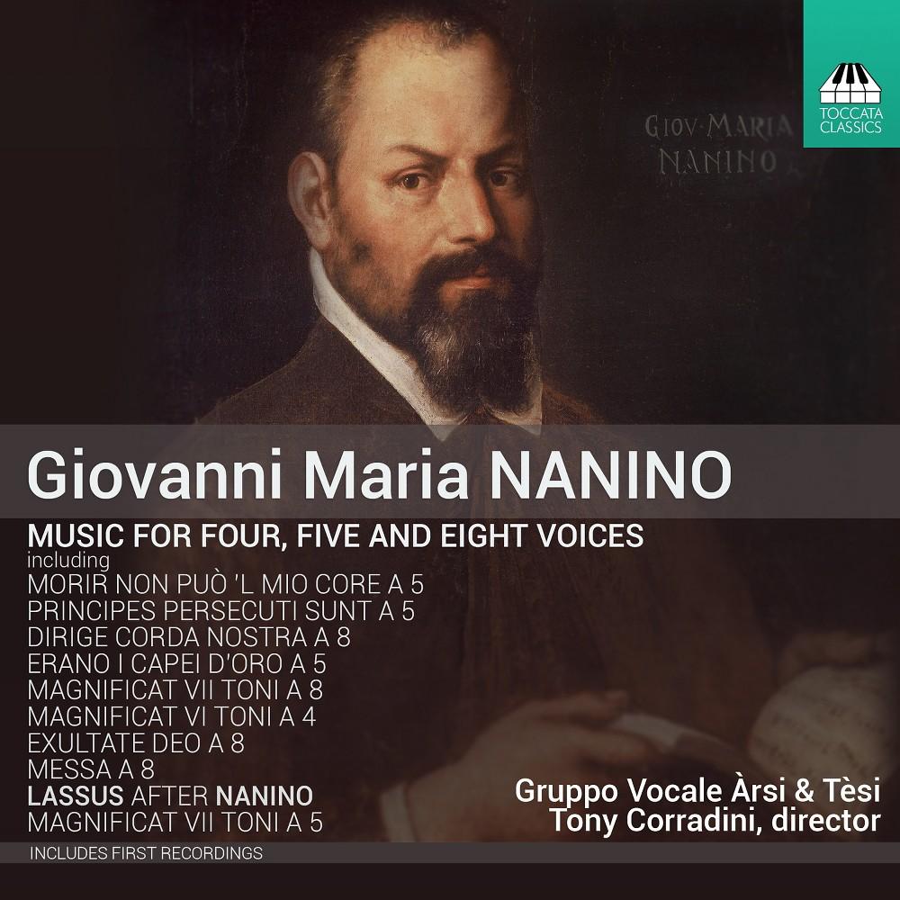 Gruppo Vocale Arsi E - Nanino:Music For Four Five & Eight Vo (CD)