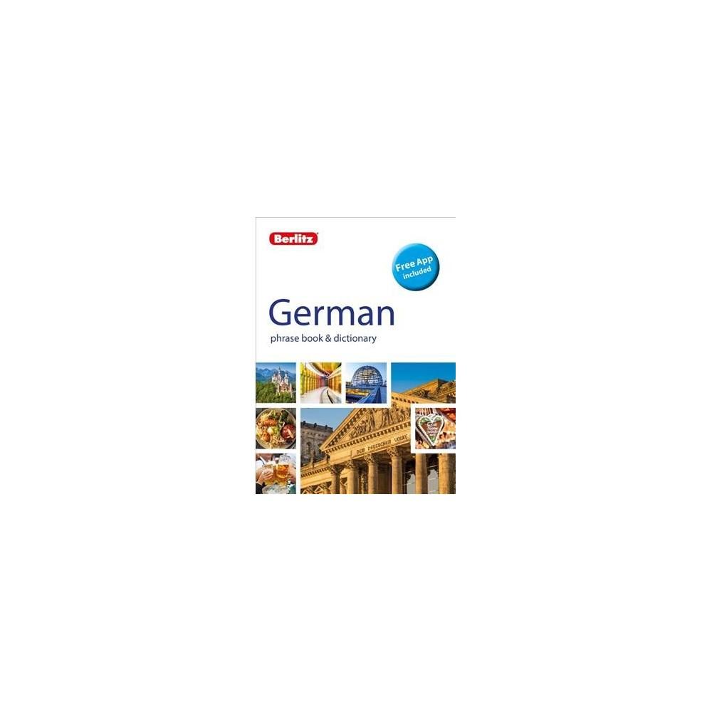Berlitz German phrase book & dictionary - Bilingual (Berlitz Phrase Book) (Paperback)