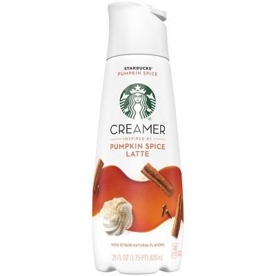 Starbucks Pumpkin Spice Latte Coffee Creamer - 1.75pt
