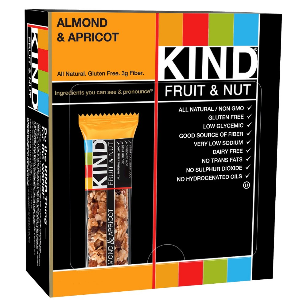 Kind Almond and Apricot Nutrition Bar 12 ct