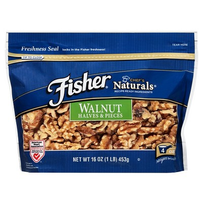 Nuts & Seeds: Fisher