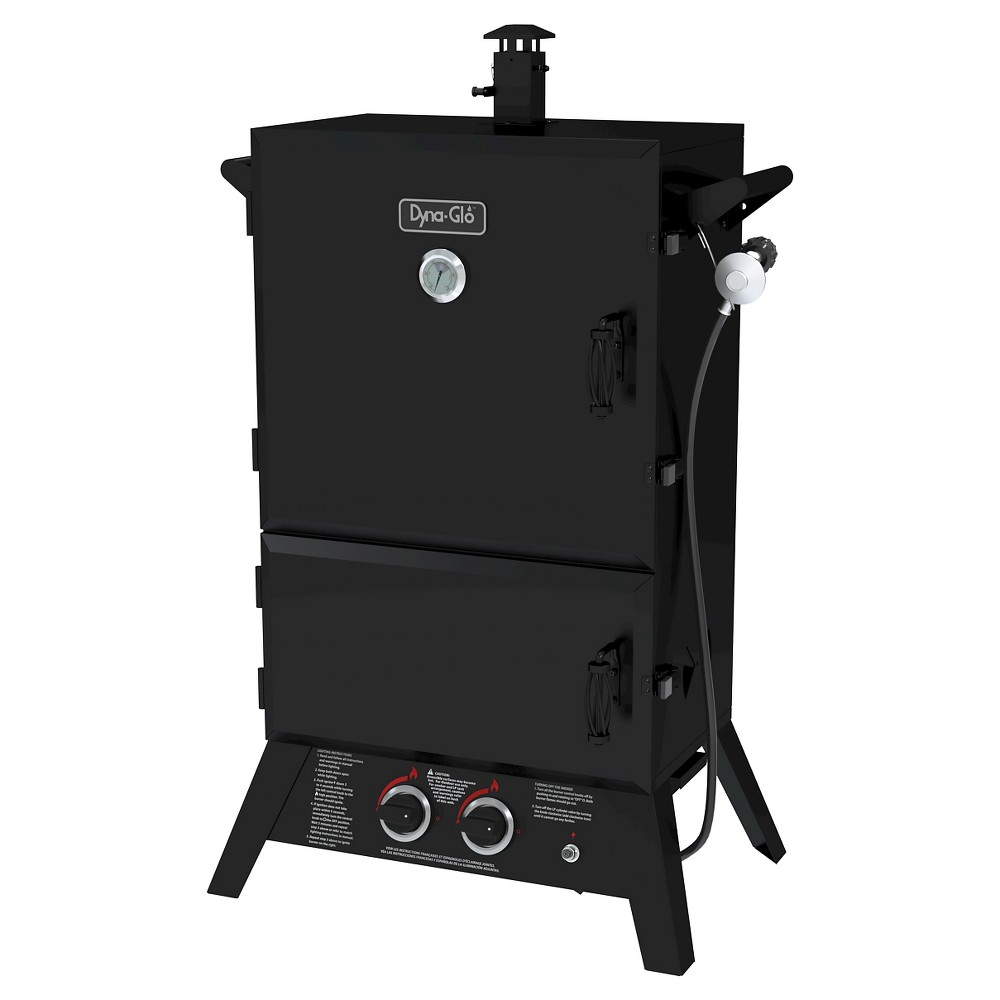 Dyna-Glo Wide Body LP Gas Smoker 36, Black 50032332