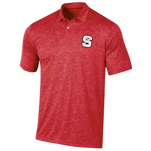 North Carolina State Wolfpack Men's Short Sleeve Twisted Jersey Polo Shirt - image 1 of 2