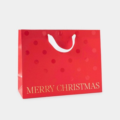 Red Merry Christmas Large Vogue Bag - Sugar Paper™