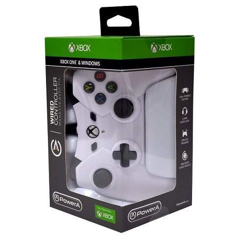 PowerA Xbox One Wired Controller - White