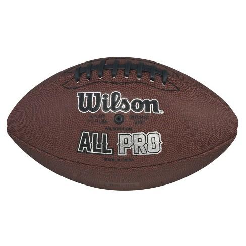 Wilson Nfl Pro Jr Composite Football Target