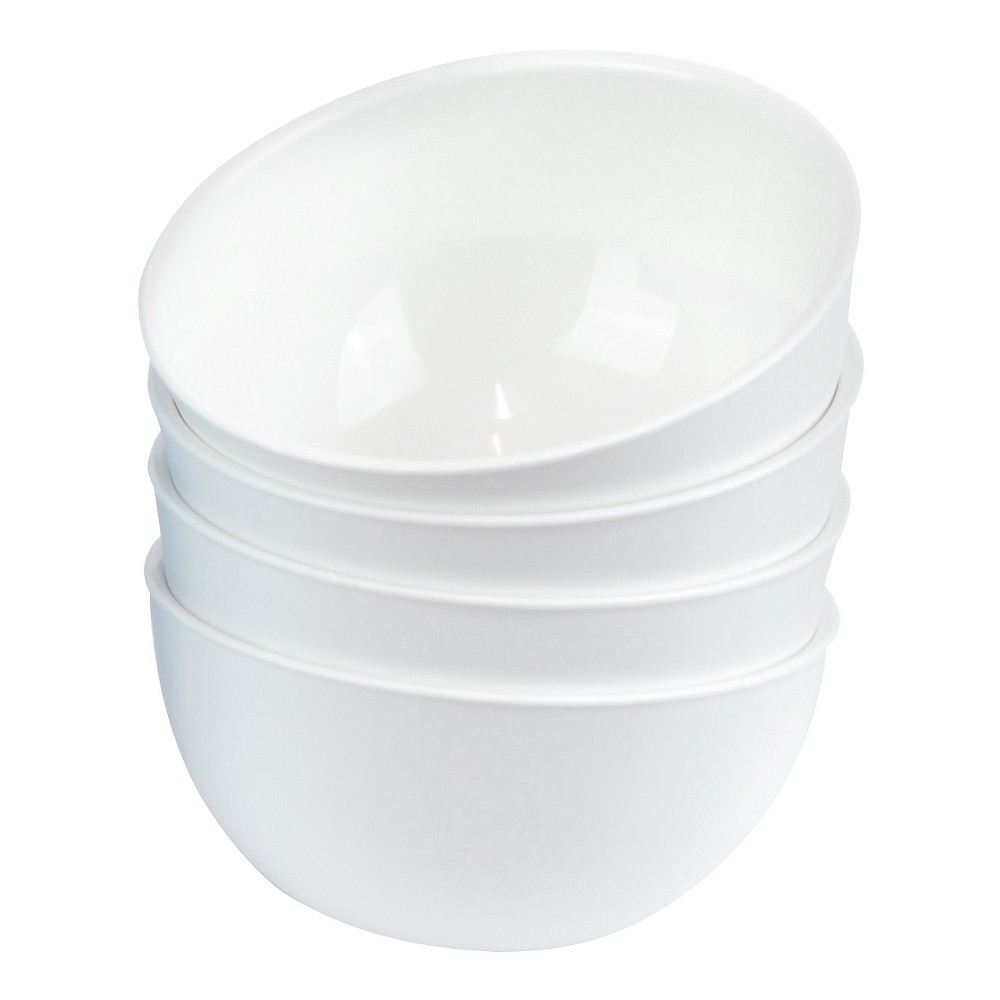 Image of EcoSouLife PLAnet 24oz Bowl 4CT White