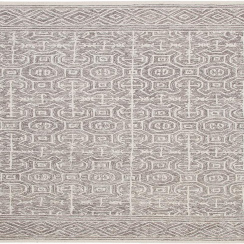 Abacasa Everest Chione Grey and Ivory Area Rug - Sam's International - image 1 of 2