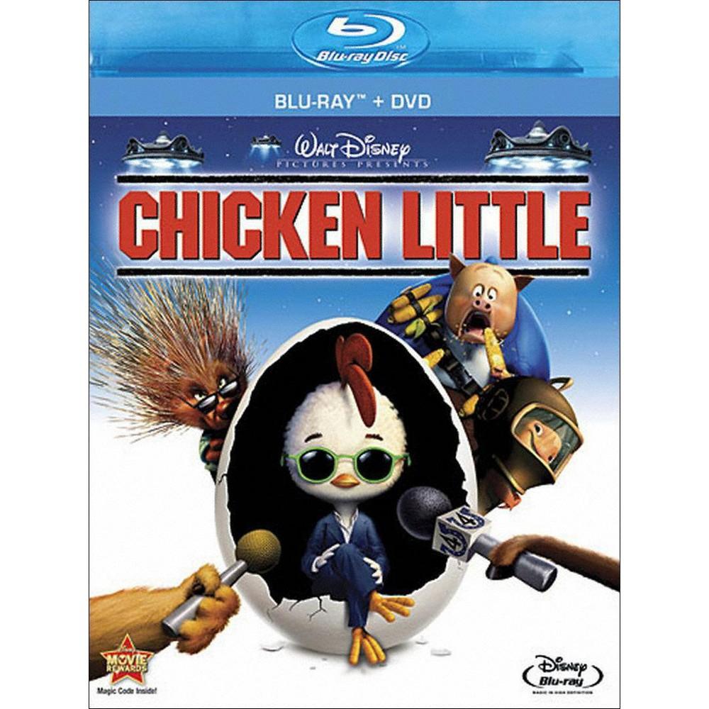 Chicken Little Blu Ray Dvd