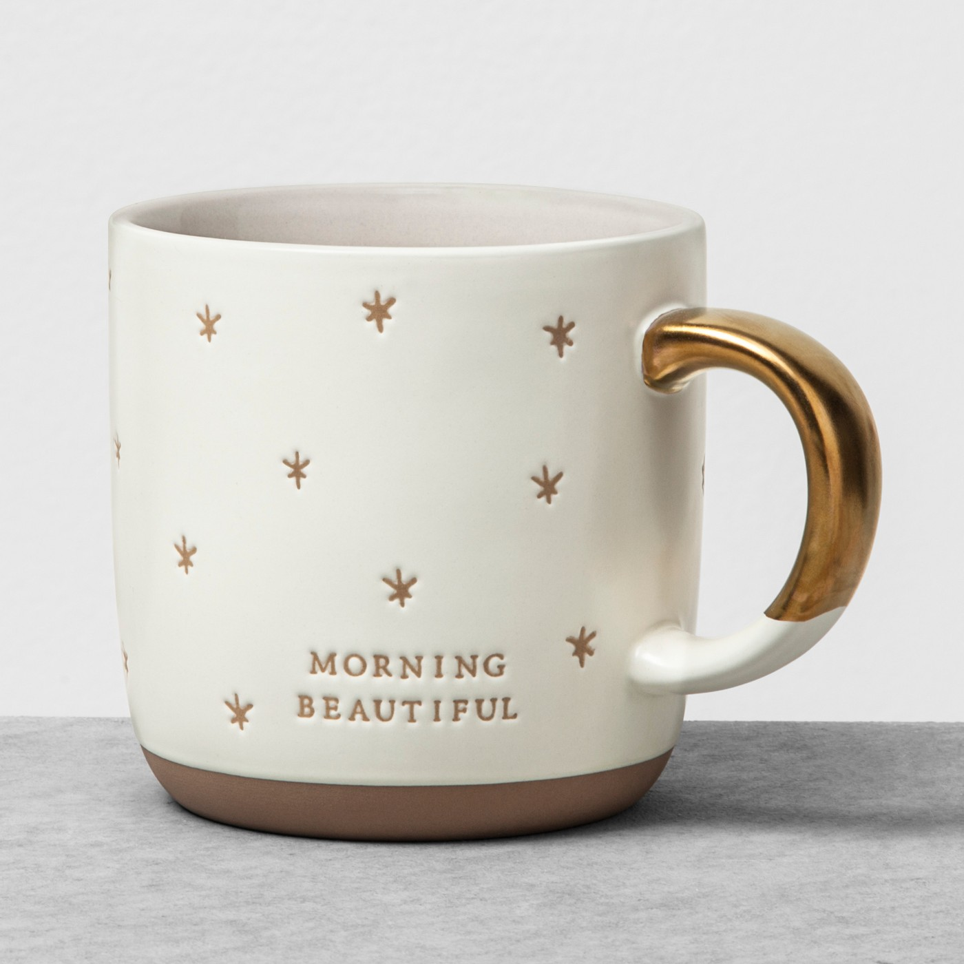 Mug Morning Beautiful - White - Hearth & Hand™ with Magnolia - image 1 of 3