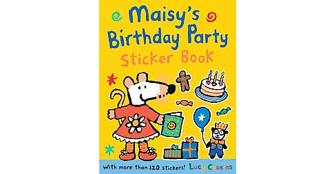 Maisy's Birthday Party Sticker Book (Paperback) (Lucy Cousins) - image 1 of 1