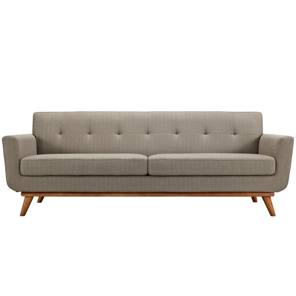 Engage Upholstered Sofa Granite - Modway