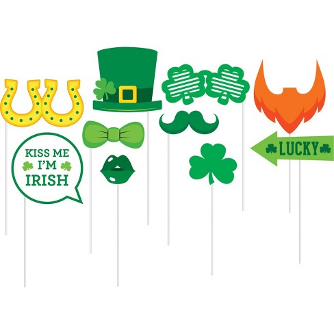 10ct St Patricks Day Photo Props - image 1 of 1