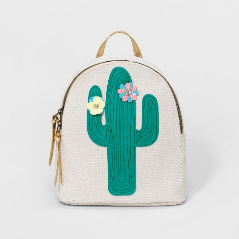 Cactus Backpack - T-Shirt & Jeans Natural - image 1 of 4