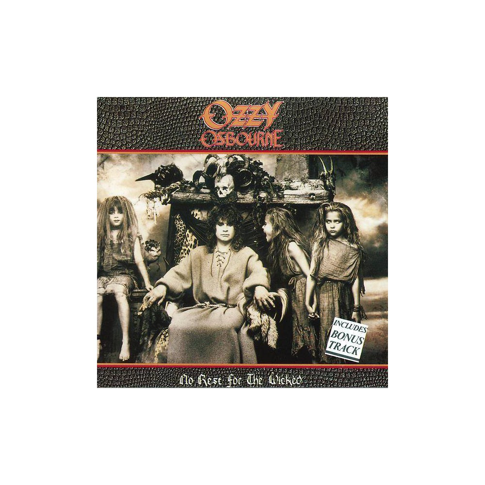 Ozzy Osbourne - No Rest for The Wicked (CD) Discounts