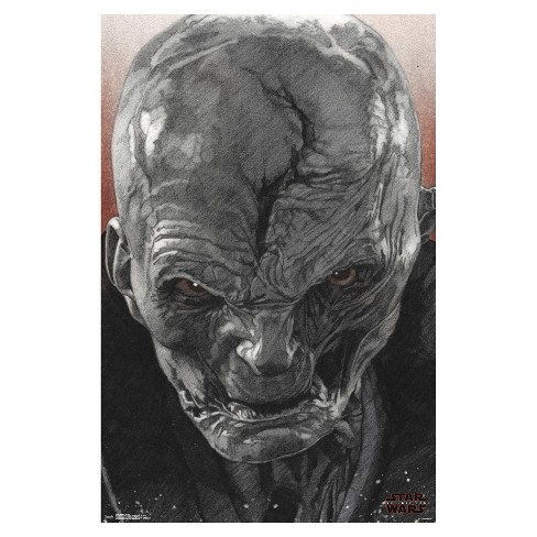 Star Wars: The Last Jedi Snoke Poster 34x22 - Trends International - image 1 of 2