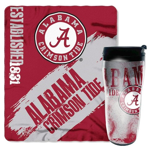 "NCAA Mug-N-Snug Alabama Crimson Tide Thow (50""x60"") - image 1 of 1"