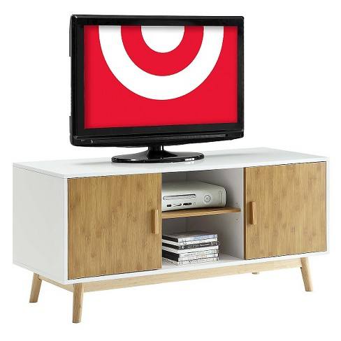 Oslo Tv Stand White 47 Convenience Concepts Target