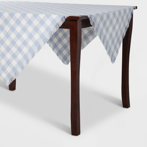 Check Table Throw Blue - Threshold™ - image 1 of 4