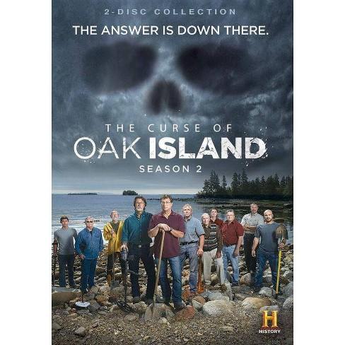 The Curse Of Oak Island: Season 2 (DVD)