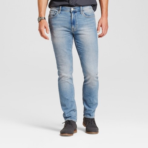 Men's Slim Fit Jeans - Goodfellow & Co™ Light Vintage Wash - image 1 of 5