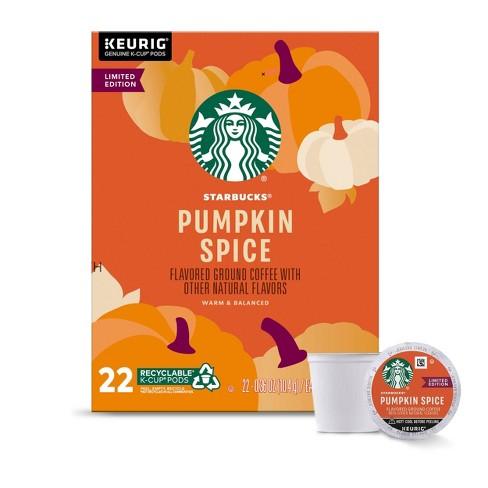 Starbucks Pumpkin Spice Medium Roast Coffee - Keruig K-Cup Pods - 22ct - image 1 of 4