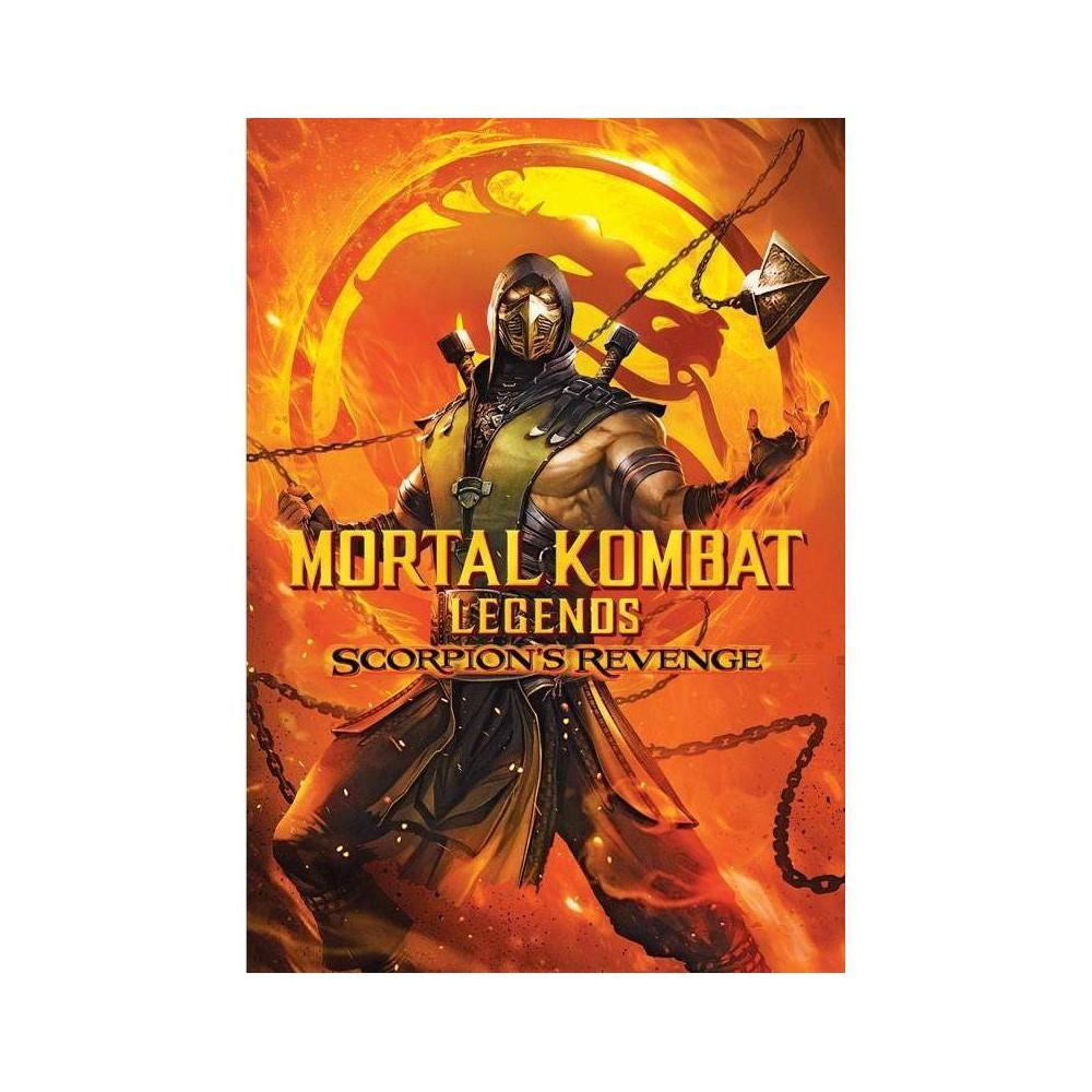Mortal Kombat Legends: Scorpion's Revenge (DVD) was $14.99 now $9.99 (33.0% off)
