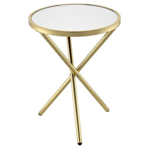 End Table Gold - Acme Furniture - image 1 of 4