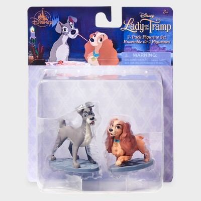 Disney Lady and the Tramp 2pk Figurine Set - Disney store