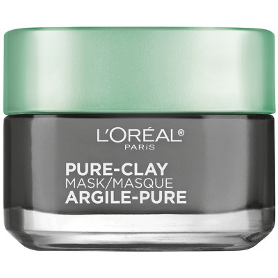 L'oreal Paris Detox & Brighten Pure Clay Mask   1.7oz by L'oreal Paris