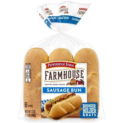 Pepperidge Farm Farmhouse Sausage Buns - 17oz/6ct