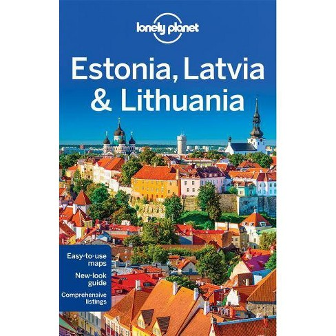 Lonely Planet Estonia, Latvia & Lithuania - (Multi Country Guide) 7 Edition (Paperback) - image 1 of 1