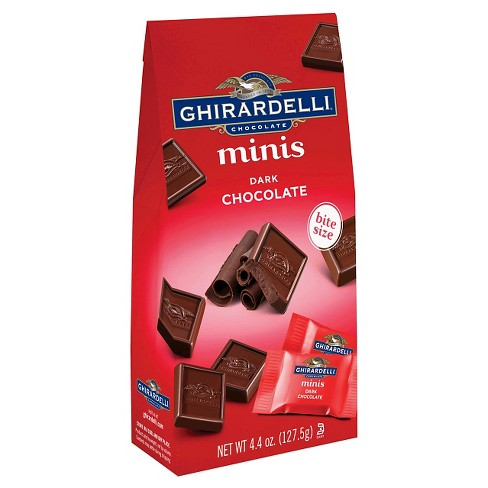 Ghirardelli Dark Chocolate Minis - 4.4oz - image 1 of 3
