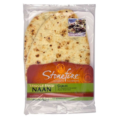 Stonefire Garlic Naan Bread - 5pc - image 1 of 1