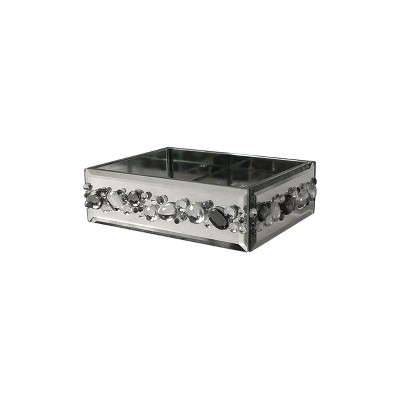 Harlow Soap Dish Light Silver - Elegant Home Fashions