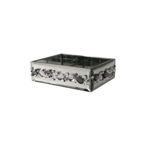 Harlow Soap Dish Light Silver - Elegant Home Fashions - image 1 of 2