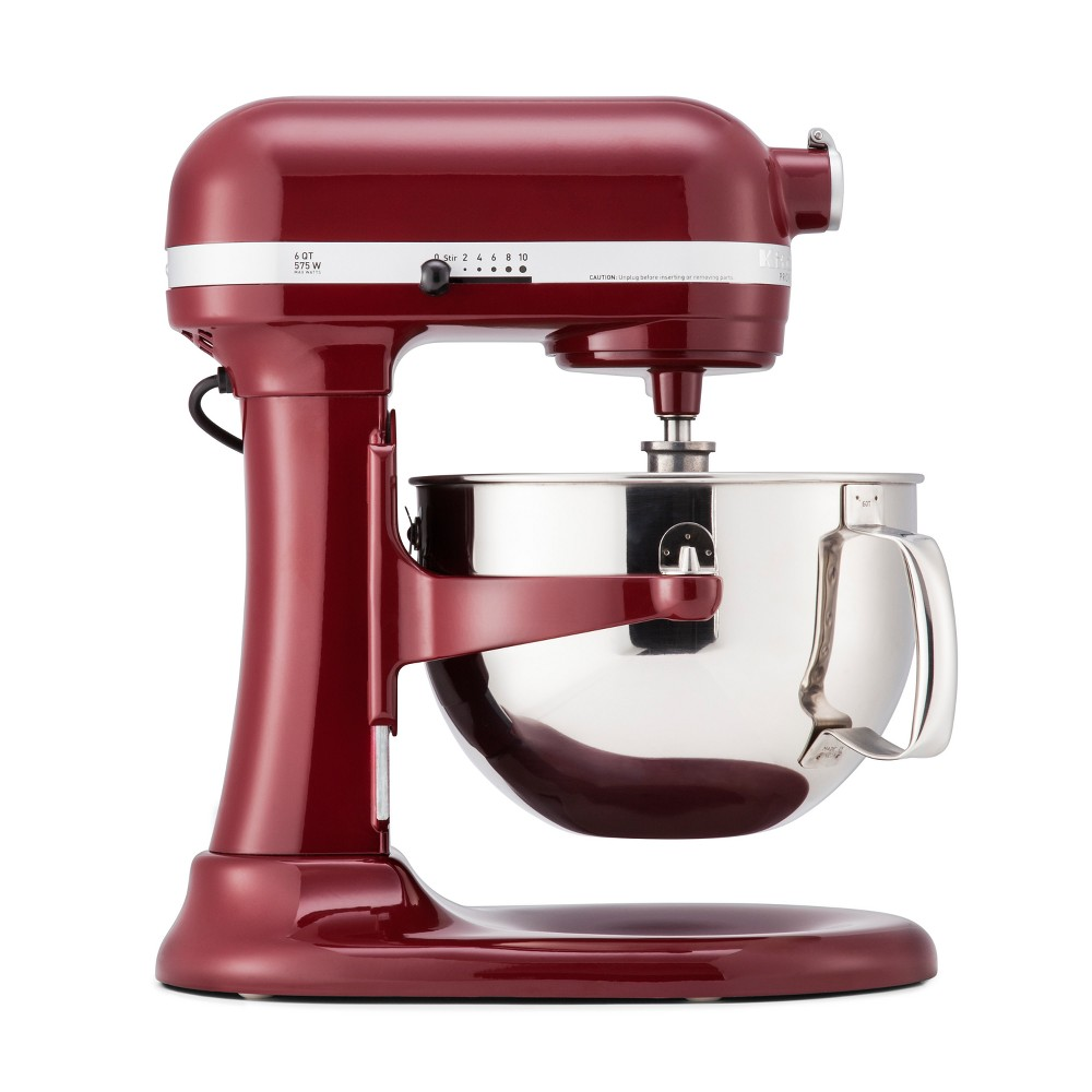 KitchenAid Refurbished Professional 600 Series 6qt Bowl-Lift Stand Mixer Crimson Red – RKP26M1XGD 53168493