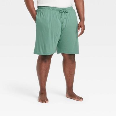"Men's Big & Tall 9"" Regular Fit Knit Pajama Shorts - Goodfellow & Co™ Green"