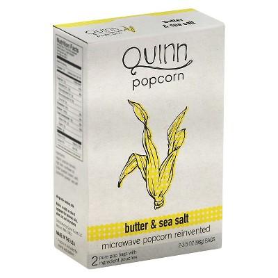 Quinn Butter and Sea Salt Popcorn - 6.9oz (Pack of 6)