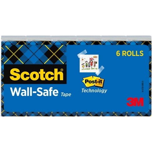 Scotch Wall Safe Tape, 0.75 x 800 Inches, pk of 6 - image 1 of 1