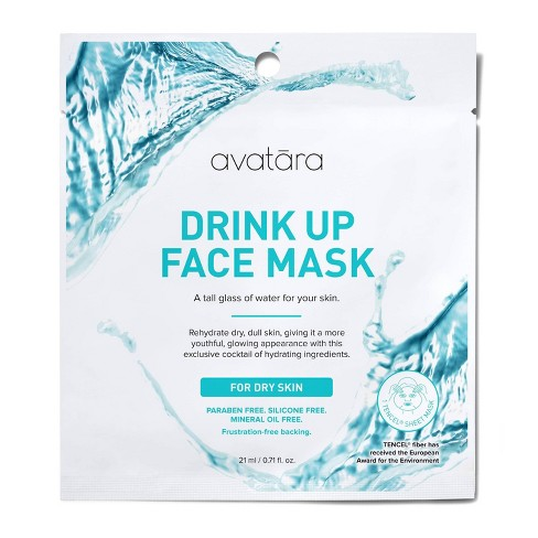 Unscented Avatara Drink Up Face Mask For Dry Skin - 0.71 fl oz - image 1 of 3