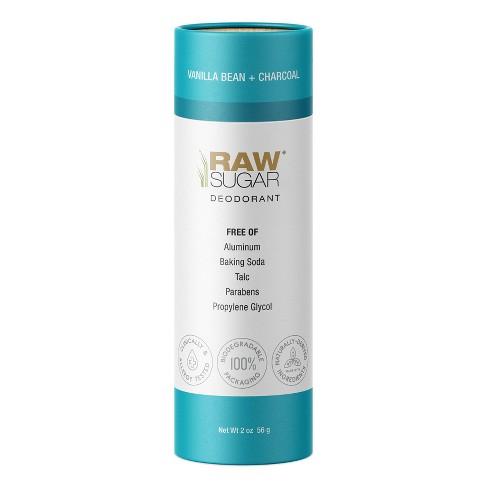Raw Sugar Deodorant Vanilla Bean + Charcoal - 2 oz - image 1 of 4