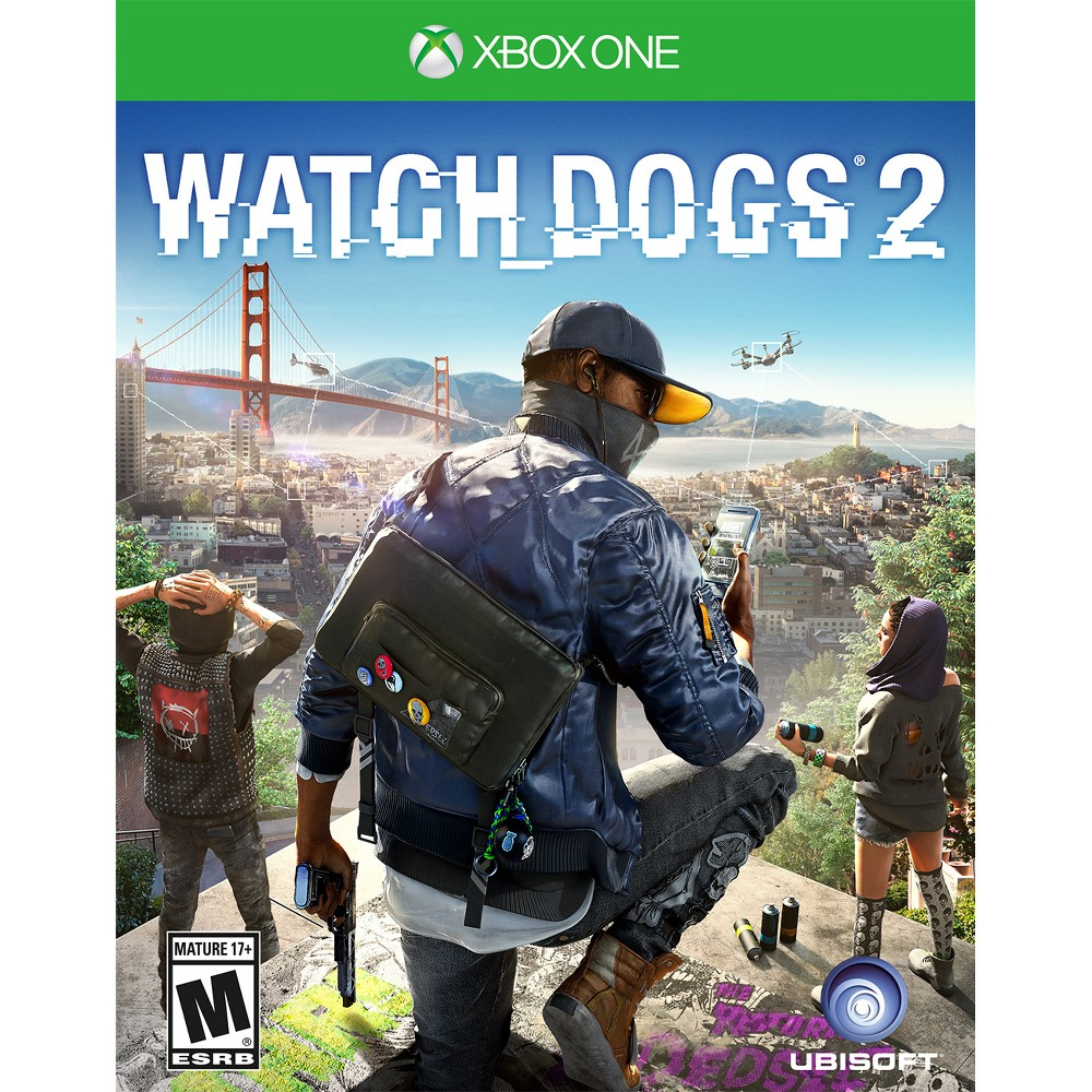 Watch Dogs 2 Xbox One, video games