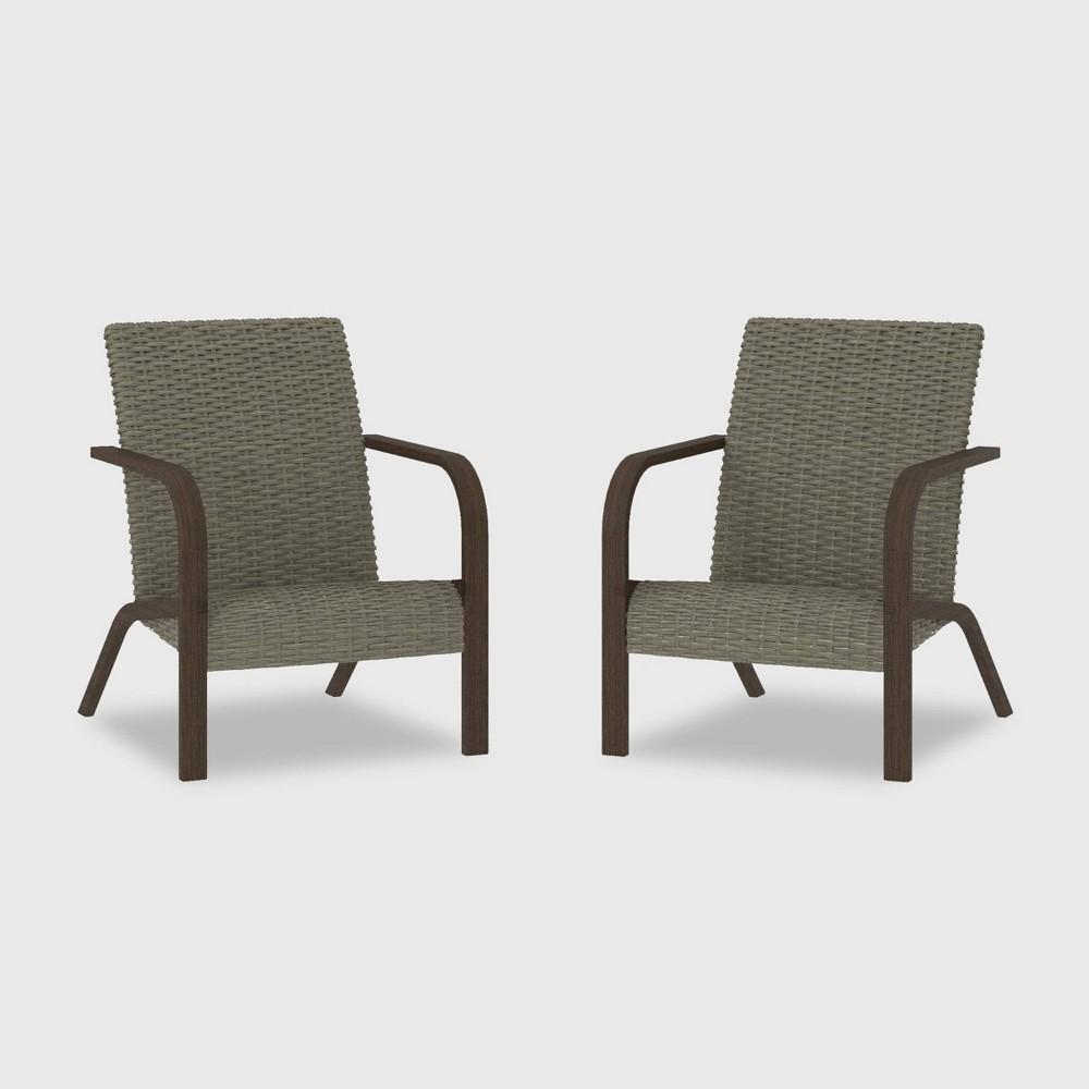 Awe Inspiring Smartdry 2Pk Patio Lounge Chair Warm Gray Cosco Download Free Architecture Designs Barepgrimeyleaguecom