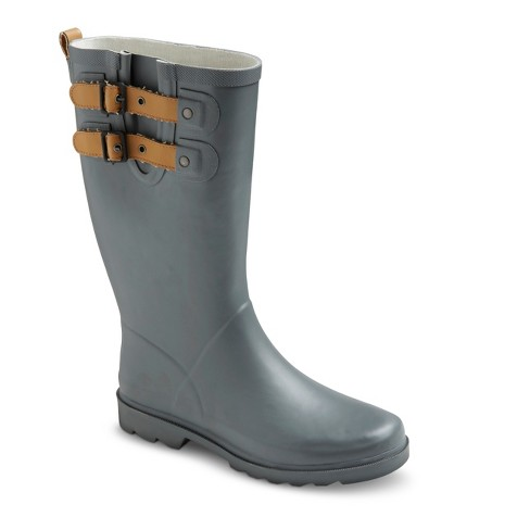 Women's Premier Tall Rain Boots - Gray 10 - image 1 of 3