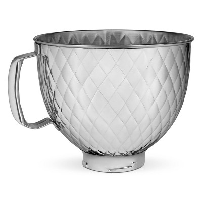 KitchenAid 5qt Tilt Head Quilted Stainless Steel Bowl
